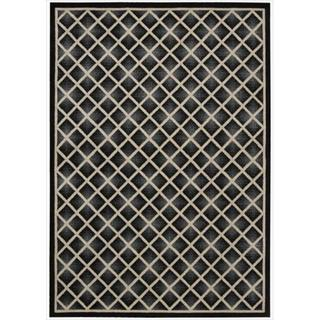 Kailash All Over Diamond Onyx Rug (7'9 x 10'10)