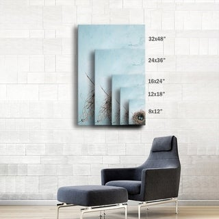 Elena Ray 'Blue Nest' Gallery-Wrapped Canvas