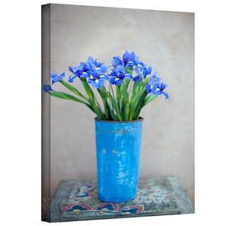 Elena Ray 'Iris Flowers' Gallery-Wrapped Canvas