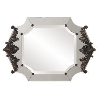 Allan Andrews Vivienne Antique Silver/ Pewter Metal Mirror