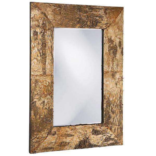 Kawaga Birch Bark Mirror