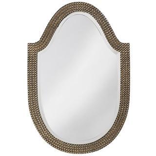 Lancelot Silver Leaf Mirror