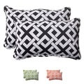 Pillow Perfect Outdoor Boxin Corded Rectangular Throw Pillow (Set of 2)