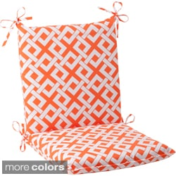 Pillow Perfect Outdoor Boxin Squared Chair Cushion