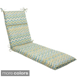 Pillow Perfect 'Cosmo Chevron' Outdoor Chaise Lounge Cushion