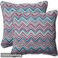 Pillow Perfect 'Cosmo Chevron' Outdoor Throw Pillows (Set of 2)