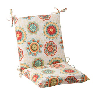 Pillow Perfect Outdoor Fairington Aqua Squared Chair Cushion