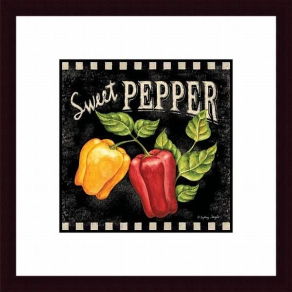 Sweet Pepper Framed Print