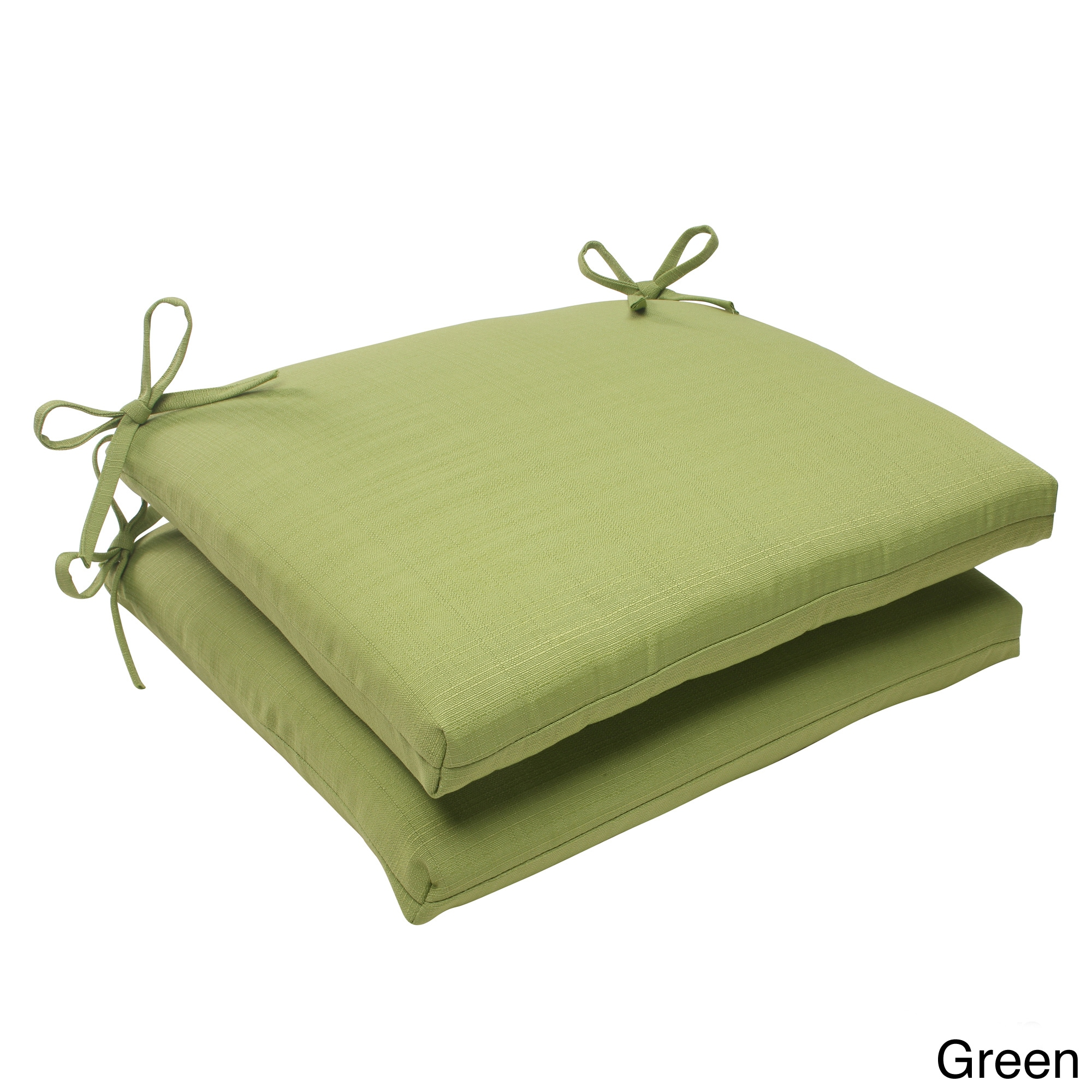 Pillow Perfect Pillow Perfect Outdoor Forsyth Squared Seat Cushion (Set of 2)