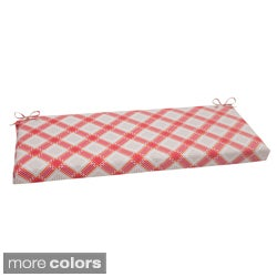 Pillow Perfect Pretty Edge Polyester Outdoor Bench Cushion