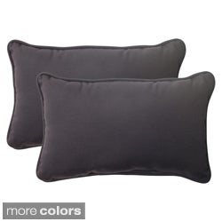 Pillow Perfect Outdoor Fresco Corded Rectangular Throw Pillow (Set of 2)