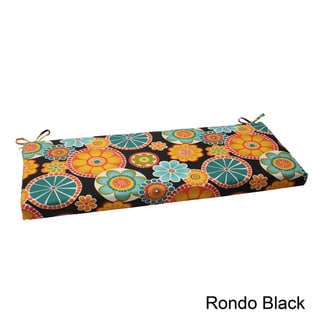 Pillow Perfect Rondo Polyester Outdoor Bench Cushion