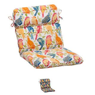 Pillow Perfect Ash Hill Polyester Rounded Outdoor Chair Cushion