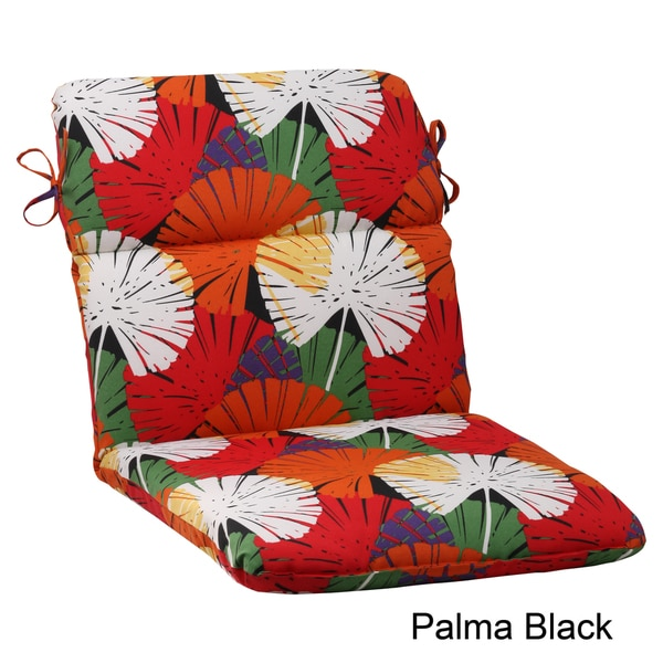 Pillow Perfect Palma Polyester Rounded Outdoor Chair Cushion