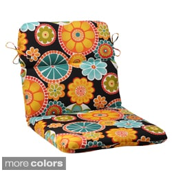 Pillow Perfect Rondo Polyester Rounded Outdoor Chair Cushion