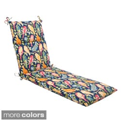 Pillow Perfect Ash Hill Polyester Outdoor Chaise Lounge Cushion