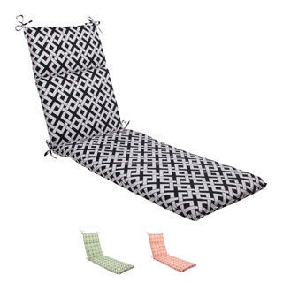 Pillow Perfect Boxin Polyester Outdoor Chaise Lounge Cushion