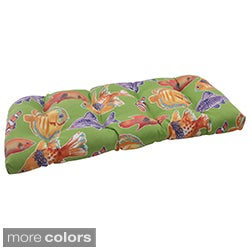 Pillow Perfect Outdoor Kiley Wicker Loveseat Cushion