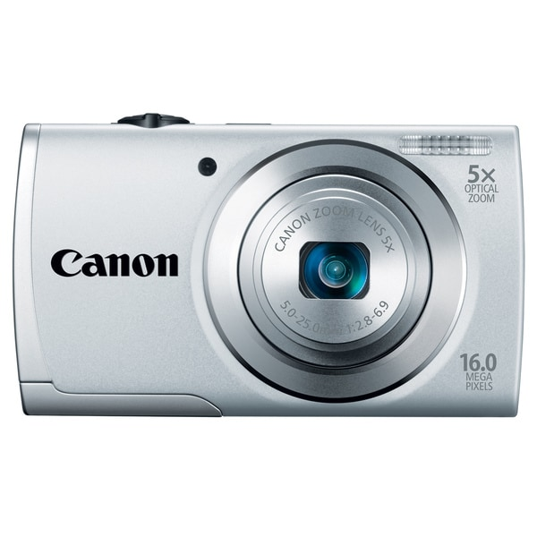 Canon PowerShot A2500 16MP Silver Digital Camera