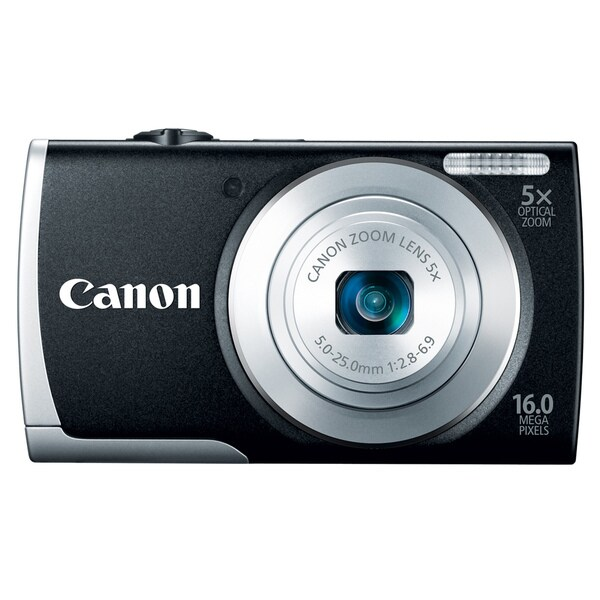 Canon PowerShot A2600 16MP Black Digital Camera