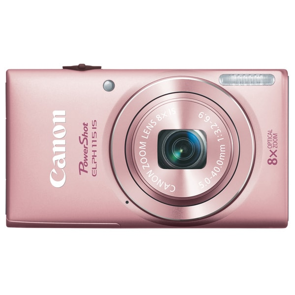 Canon PowerShot 115IS 16MP Pink Digital Camera