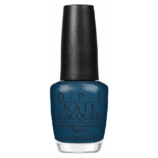 OPI Ski Teal We Drop Nail Lacquer