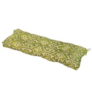 Green Ikat 44-inch Outdoor Swing/Bench Cushion