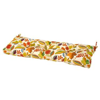 Fireworks Floral 51-inch Outdoor Bench Cushion