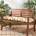Fireworks Floral 54-inch Outdoor Bench Cushion