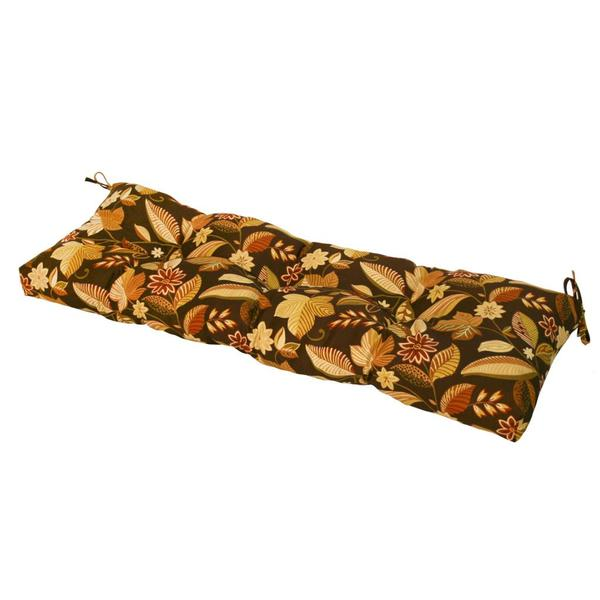 51-inch Outdoor Timberland Floral Bench Cushion