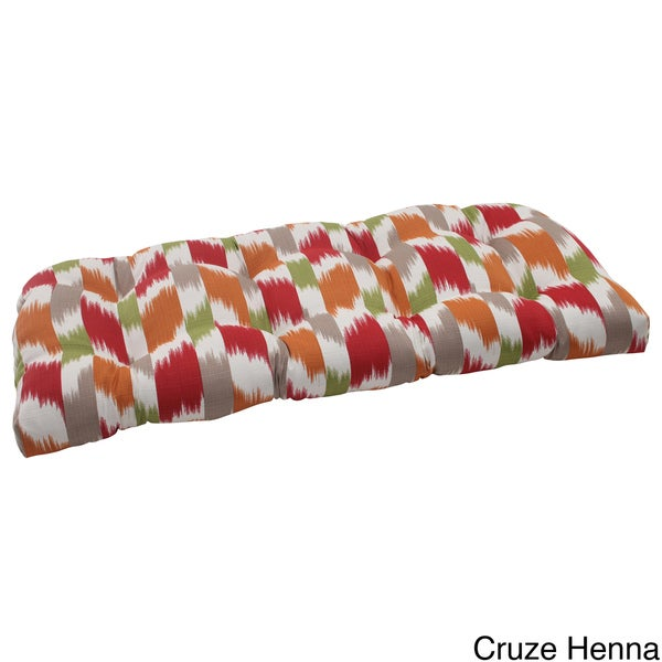 Pillow Perfect Outdoor 'Cruze' Wicker Loveseat Cushion