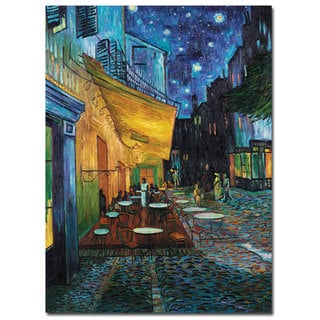 Vincent van Gogh Cafe Terrace Canvas Art