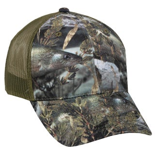 Fishouflage Camo Walleye Mesh Back Adjustable Hat