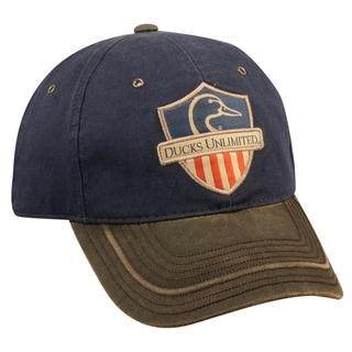 Ducks Unlimited American Flag Adjustable Hat