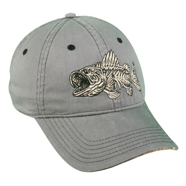 Bonefish Series Bass Adjustable Hat
