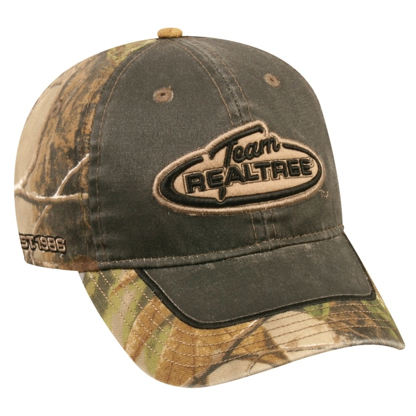 Team Realtree Weathered Cotton Camo Adjustable Hat