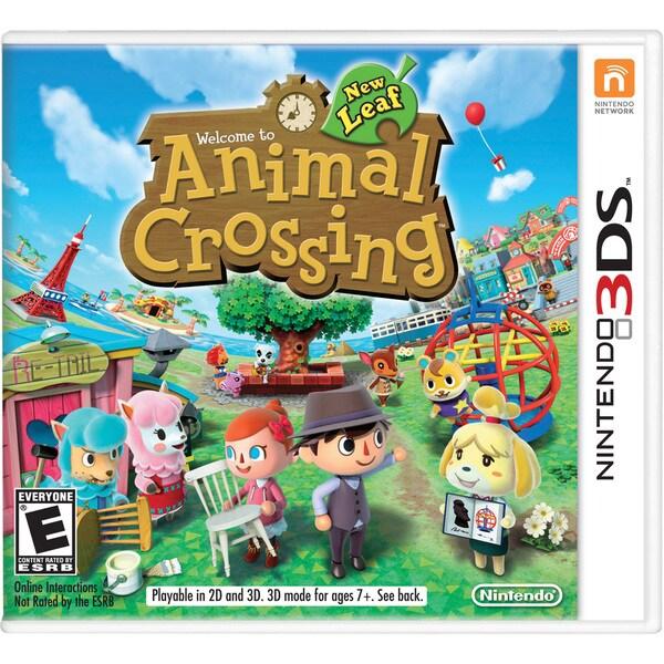 Nintendo 3DS - Animal Crossing New Leaf