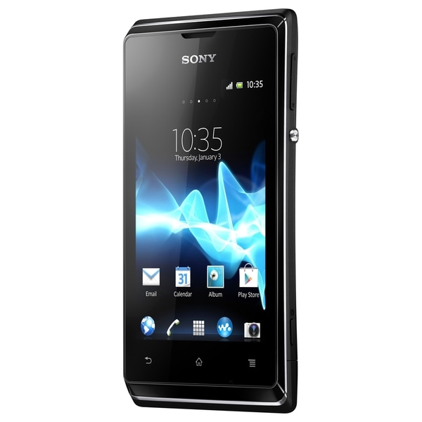 Sony Mobile Xperia E dual Smartphone - 4 GB Built-in Memory - Wireles