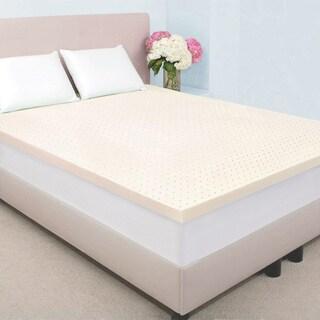 Dream Form Fresh 2-inch Memory Foam Mattress Topper