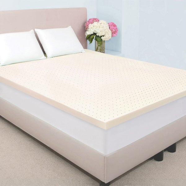 Dream Form Fresh 2-inch Memory Foam Mattress Topper