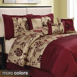 Aurora-pieced with Embroidery 8-piece Comforter Set
