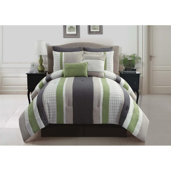 VCNY Madison 8-piece Comforter Set