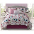 Natalie Reversible 5-piece Comforter Set