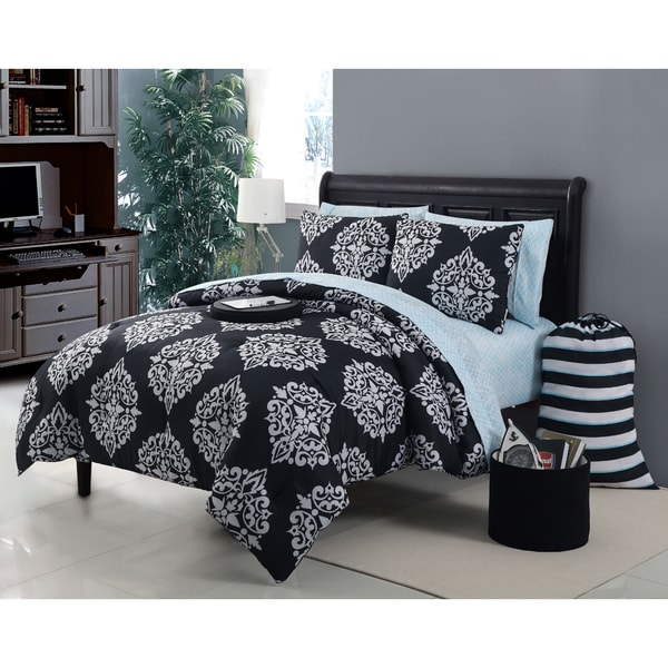 VCNY Daria 11-piece Bed in a Bag with Sheet Set