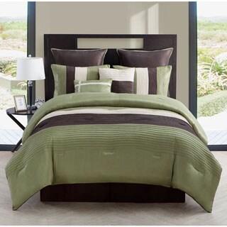 Hudson 8-Piece Reversible Comforter Set