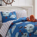 Jack the Pirate Reversible 4-piece Comforter Set