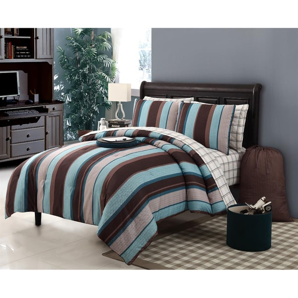 Joseph 11-piece Bed in a Bag with Sheet Set