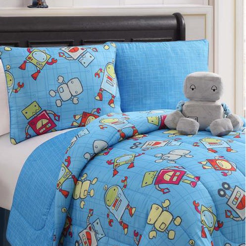 Mr. Robot Reversible 4-piece Mini Comforter Set
