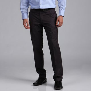 English Laundry Men's Slim Fit Grey Dress Pants