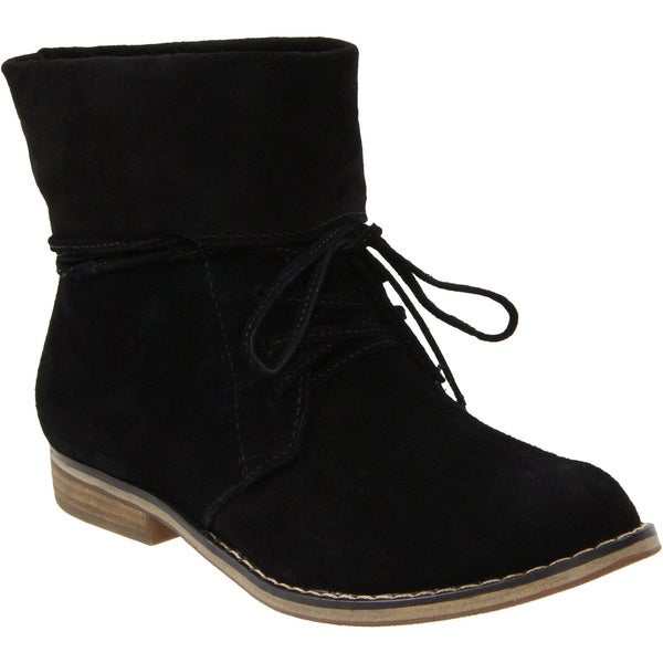 MIA Women's 'Tawannah' Suede Lace-up Boots